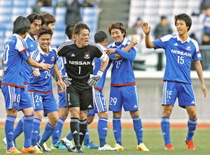 複雑なチーム環境のJ1横浜M 天皇杯の奮起たたえる