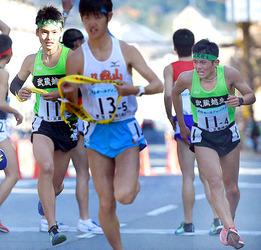 武蔵越生は20位、入賞狙うも歯がゆい順位 高校駅伝