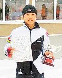 山下(南砺平)初V 全日本クロカン高校男子10キロ