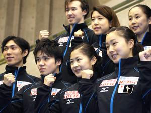 フィギュアスケート 宮原、世界選手権へ 五輪出場枠3を取りたい