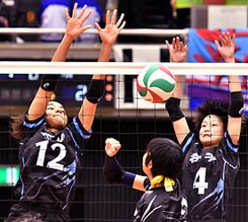 岩手県女子、最高位の16強 JOC中学バレー