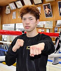 田中恒成「状態は最高」 WBO・Lフライ級あす王座決定戦