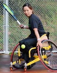 車いすテニス・大谷桃子さん、パラ東京大会で頂点へ