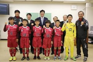 キャプテン翼CUP初出場 平戸市の小学生選抜チーム