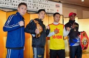 ボクシング世界戦へ 赤穂出身の小国「僕が倒す」