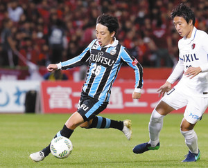 J1川崎・三好選手、次世代へ希望のパス