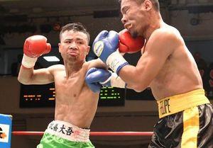 攻めのボクシング世界へ 東洋太平洋フライ級王者・比嘉大吾