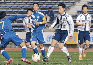 鵬学園、初陣飾れず 全国高校サッカー、佐賀東に0-4