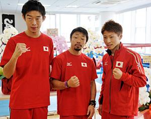 ボクシング八重樫「もっと発展」 IBF2度目の防衛で会見