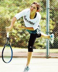 テニス リュー理沙マリー、夢のプロへ正念場 全米大学優勝目指す