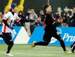 タッチフットボール 女子日本選手権 神戸大QB山本、ランで3TD