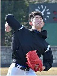西武 今井投手(作新)初練習 目標は「1軍でまず5勝」