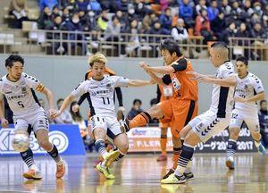 フットサル Fリーグが高知市で初開催