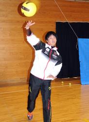 ドッジボール 洋野の教諭、橋場さん 日本代表との両立奮闘