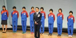 京都に3年ぶりの皇后杯を 女子駅伝チーム激励会