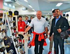 ドイツ陸連、沖縄市の競技場評価 東京五輪の合宿地選定