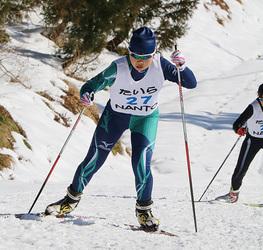男子山下、女子は広瀬V 富山県スキー選手権・距離フリー