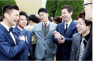 栗原陵矢捕手が古里福井で成人式 ソフトバンク3年目