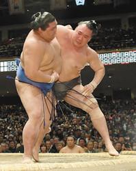 大相撲 新関脇正代が初白星 逆転、気負いなし