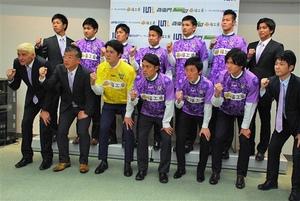 J3藤枝 新加入9選手を発表