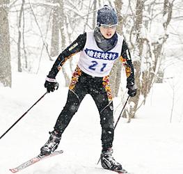 只見・目黒が女子距離フリー3キロで初の栄冠 福島県中体スキー