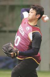 楽天 池田隆英投手 大学で台頭 期待の即戦力