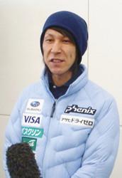 スキー 葛西、44歳はまだまだ「最高のジャンプを」