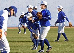 「勝ち切る力を」 大阪ガス野球部が高知で1次キャンプ