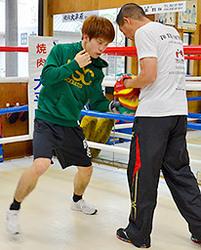 田中恒成、ボクシング統一戦を熱望 2階級制覇後、初練習