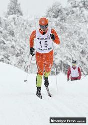 赤石クラシカル制し2冠 青森県中学スキー距離
