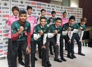 J2松本山雅、新加入選手10人が会見