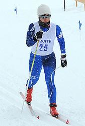 盛岡南高・滝沢、女子クラシカル2冠 岩手県スキー3大会開幕