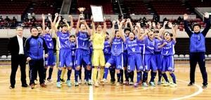 丸岡RUCK、フットサル日本リーグプレ大会を制覇