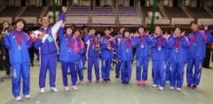 伝統のたすき、岡山が表彰台に 都道府県対抗女子駅伝