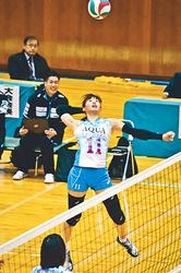 アクアフェアリーズ、熊本に快勝 バレー・チャレンジリーグI