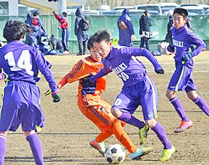 水石FCなど8強 民友杯いわき市中学生サッカー