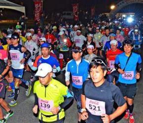 宮古島100キロマラソン 石川佳彦連覇、女子は望月千幸