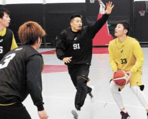 バスケB1仙台・片岡 「エース止める」