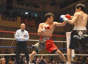 野田の「公務員ボクサー」佐藤和憲選手 復帰初戦TKO勝ち