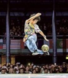 フリースタイル・フットボール 華麗な足技で世界準優勝 浜松出身Ko-sukeさん
