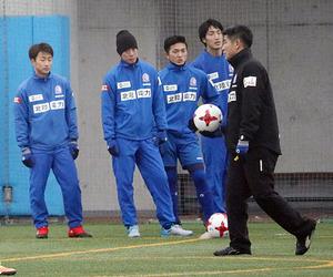 開幕戦へカターレ始動 富山で練習