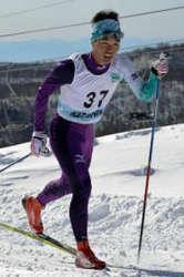 スキー 星野(利根商高)距離男子クラシカル優勝 群馬県選手権