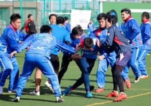 ラグビー 全国クラブ大会 六甲FB、日本一奪還狙う