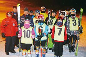 スキー 室蘭連盟のレーシングチーム、今季活動開始