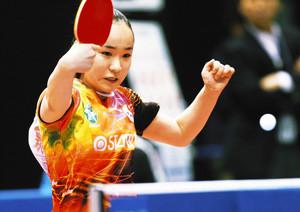 卓球 最年少優勝狙う伊藤が5回戦進出 全日本選手権