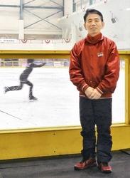フィギュアスケート 製氷の職人技、敦賀市の男性
