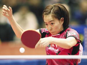 石川、平野8強 伊藤敗退、卓球全日本選手権