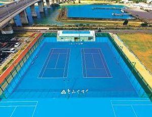 車いすテニス代表、沖縄で合宿 パラの強化合宿で使用も