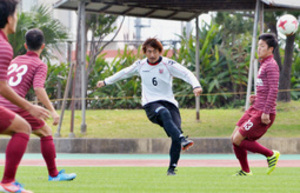 J1札幌、沖縄国際大に6―1 キャンプで初の練習試合