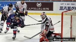 フリーブレイズ連敗脱出 アイスホッケー・アジアリーグ